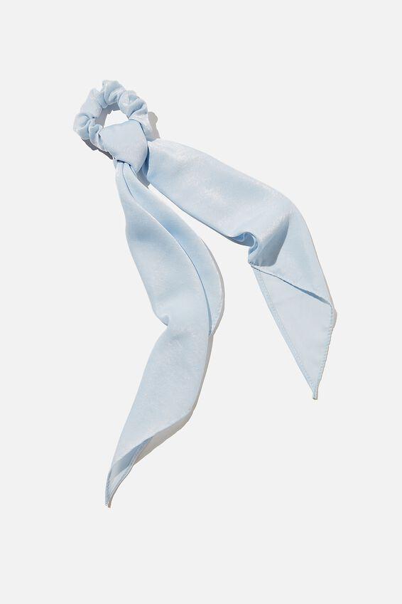 New York Convertible Scrunchie, DUSK BLUE