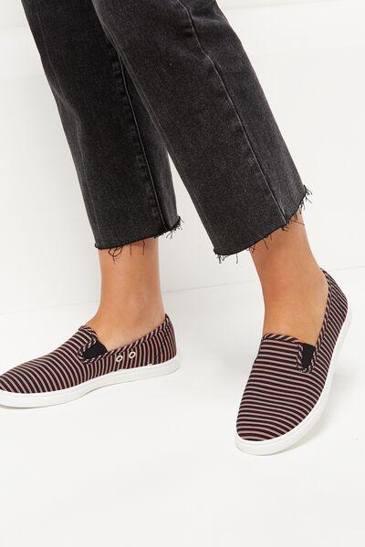 Hazel Slip On Sneaker, VARSITY STRIPE 2
