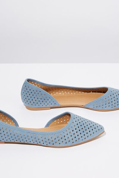 Piper Laser Point, CHAMBRAY BLUE MICRO