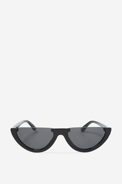 Shortage Sunglasses, BLACK/MONO
