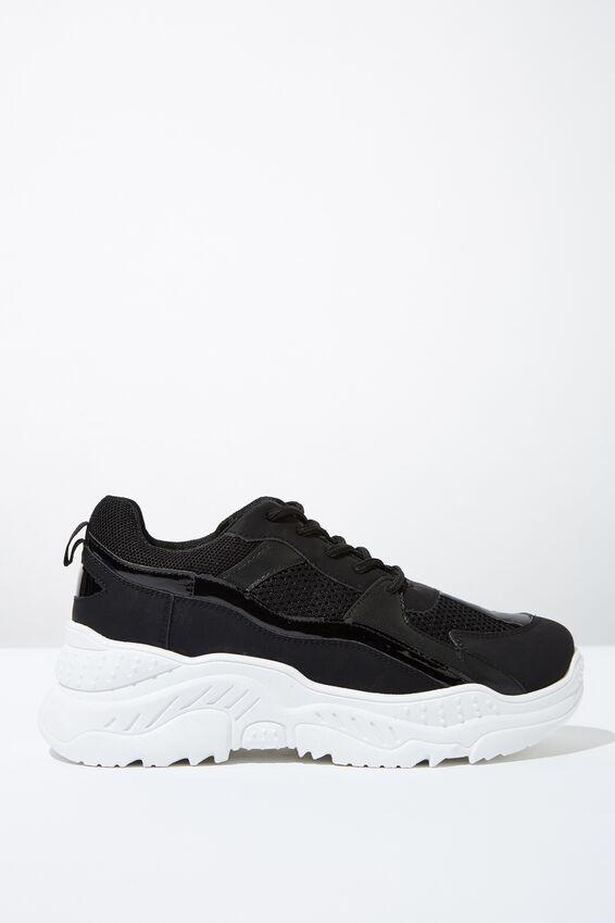 Blaze Chunky Sneaker, BLACK MESH MULTI
