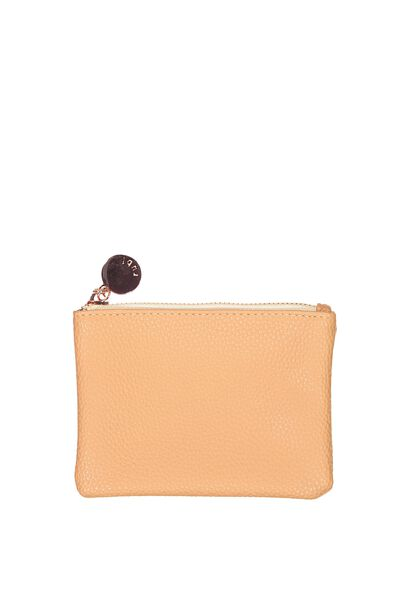 Meadow Coin Purse, NOUGET