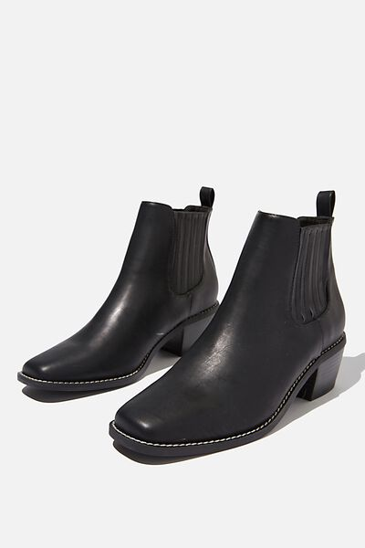 Atwood Ankle Boot, BLACK SMOOTH