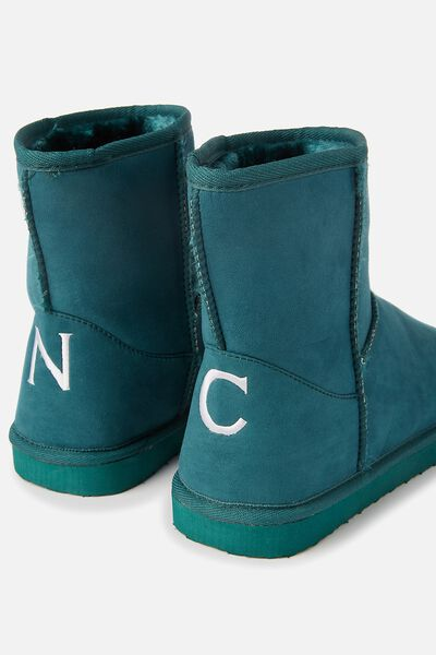 Personalised Short Home Boot, EMERALD
