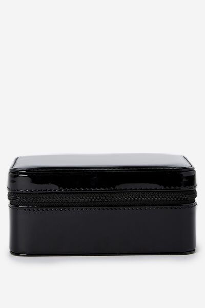 Medium Jewellery Box, BLACK