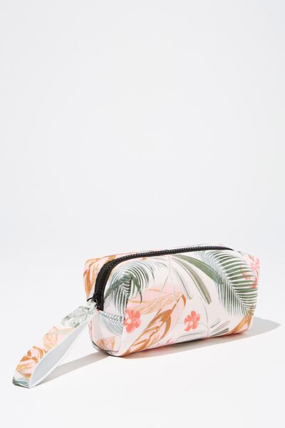 Day To Day Cosmetic Case, TROPICAL FLORAL