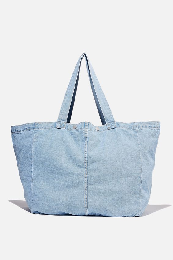 Denim Dreaming Tote, BURLEIGH BLUE