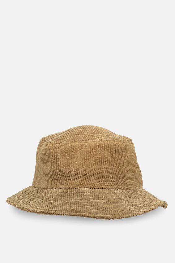 Bella Bucket Hat, CACAO CORD