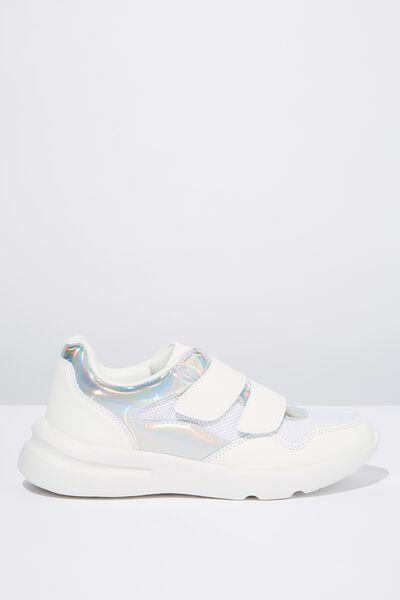 Zaya Strap Chunky Sneaker, HOLOGRAPHIC MULTI