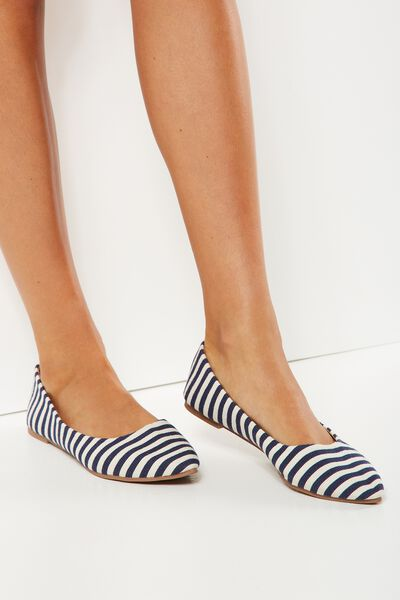 Primo Point, NAVY TEXTURE STRIPE