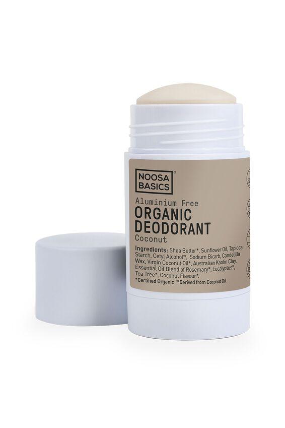 Noosa Basics Deodorant Stick Full Strength, COCONUT