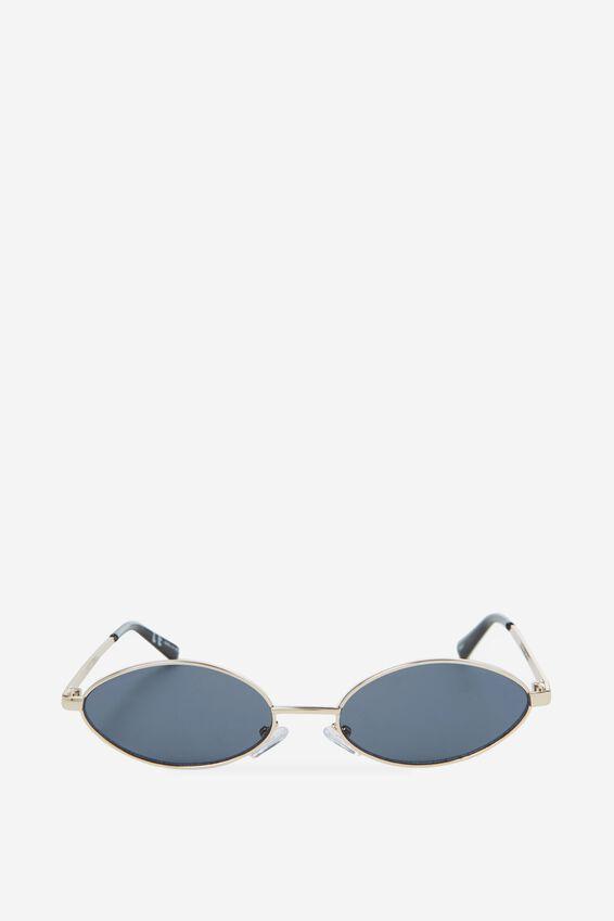 Becky Sunglasses, GOLD/SMOKE