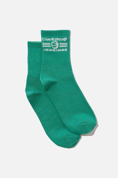 Fine Rib Sports Sock, CHAMPIONSHIP LEAGUE