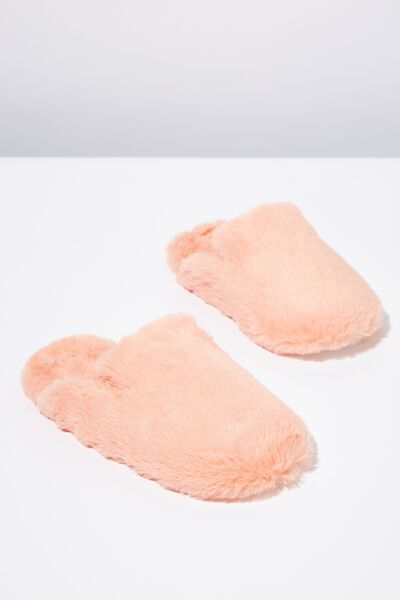 Poppy Slipper Scuff, PEACH