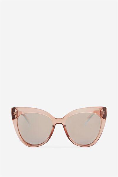 Whitney Cat Eye Sunglasses, TORT