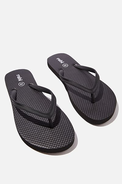The Rubi Flip Flop, BLACK