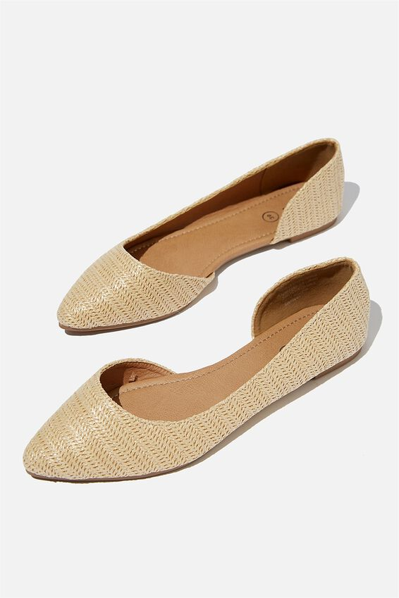 Essential Drew Dorsay Point, SAND RAFFIA
