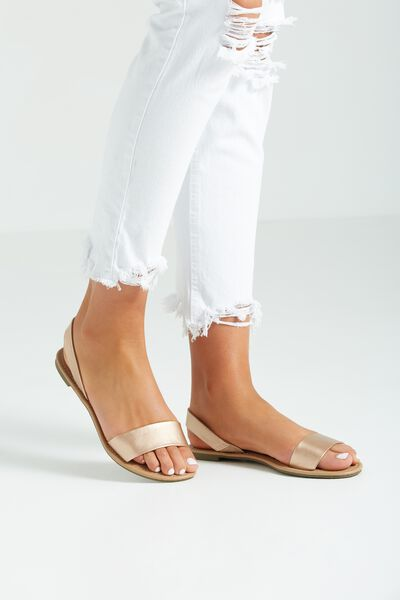 Everyday Simple Slingback, ROSE GOLD