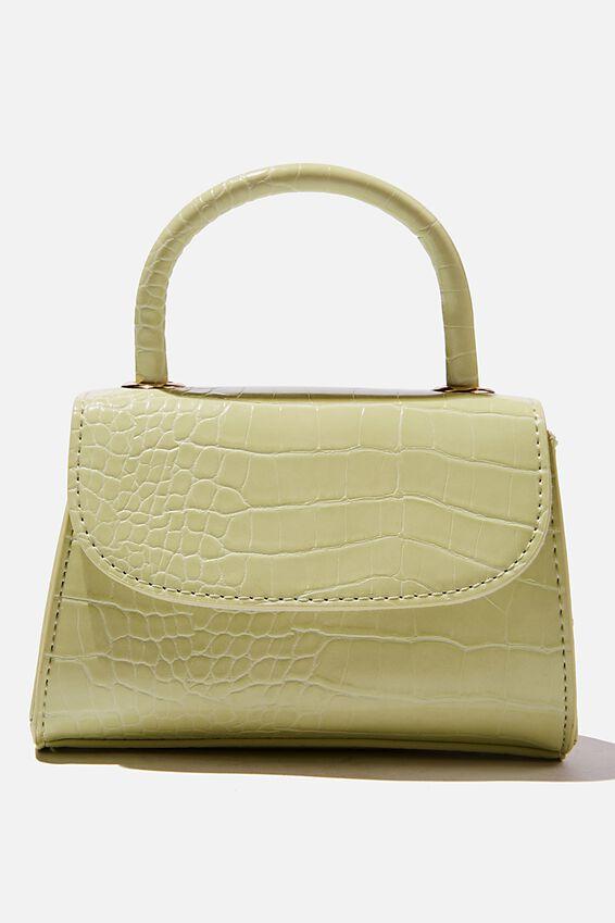 Lola Cross Body Bag, FRESH LIME TEXTURE