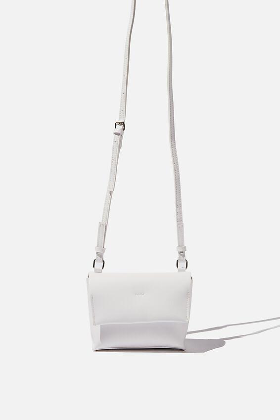 Whit Cross Body Bag, WHITE