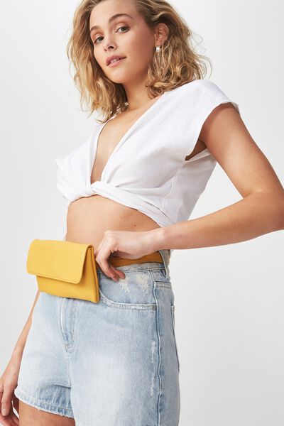 Simple Belt Bag, MUSTARD
