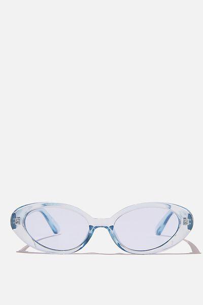 Hazel Sunglasses, BLUE CRYSTAL