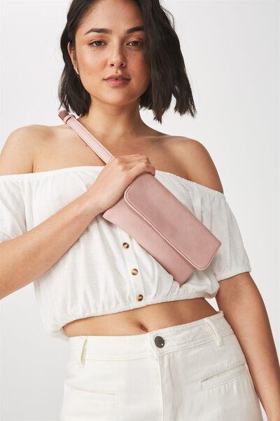 Simple Belt Bag, BLUSH