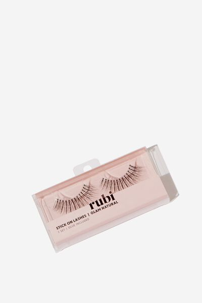 Stick On Lashes, GLAM NATURAL