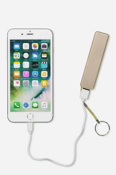 Charger Bank, GOLD
