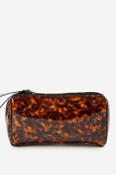 Day To Day Cosmetic Case, BROWN MULTI