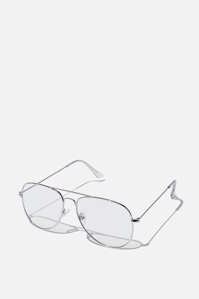 Arabella Blue Light Blocking Glasses, SILVER