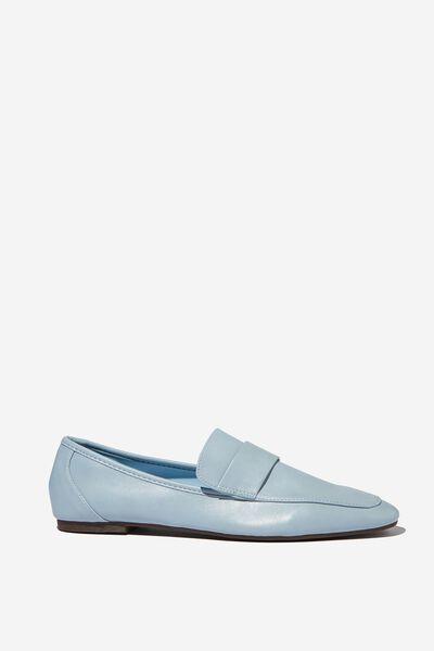 Classic Slim Loafer, POWDER BLUE PU