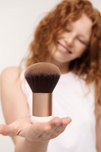 Body Bronzer Brush, ROSE GOLD