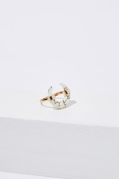 Texas Western Ring, GOLD MARBLE