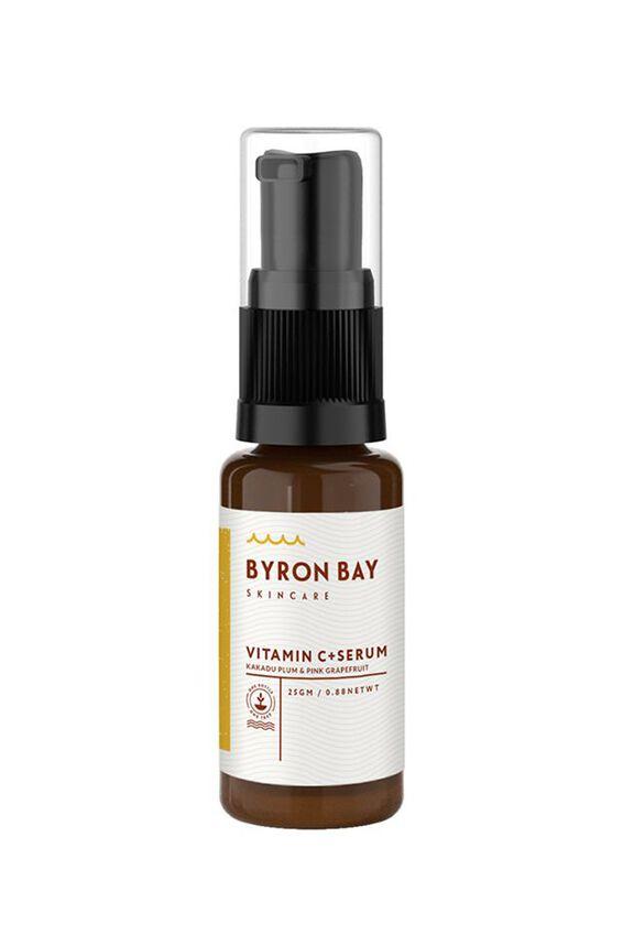 Byron Bay Skincare Vit C + Serum, GRAPEFRUIT & KAKADU PLUM