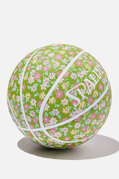 Spalding Basketball, KENDAL DITSY PISTACHIO GREEN