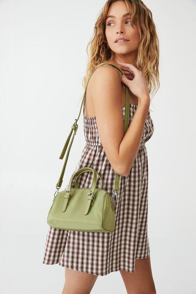 Mini Bowling Bag, SOFT MOSS