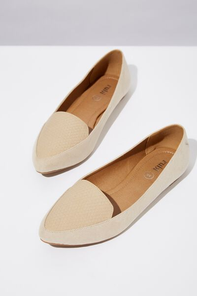 Peta Point Loafer, STONE REPTILE EMBOSS MULTI