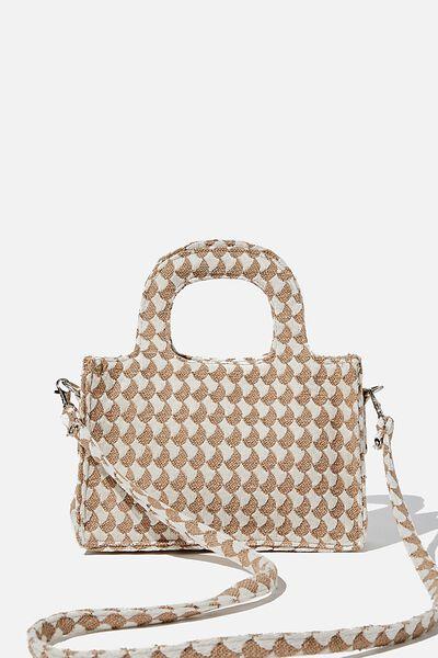 Mini Weekender Tote Bag, BRUSH