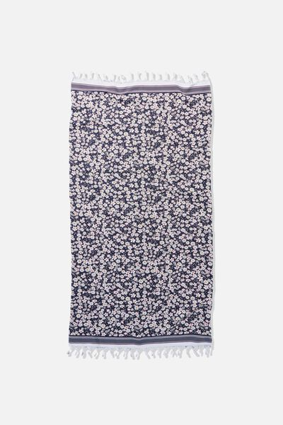 Coogee Lightweight Towel, DITSY FLORAL