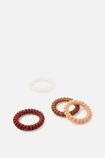 Body Home Spa | Large Hair Ties, BLONDE