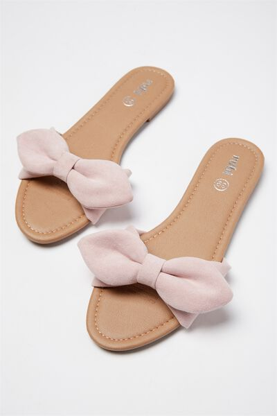 Everyday Bow Slide, DUSTY ROSE MICRO