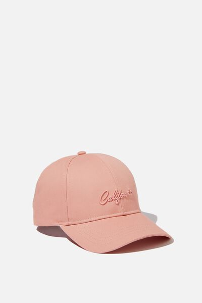 Selina Structured Cap, BLUSH/CALIFORNIA