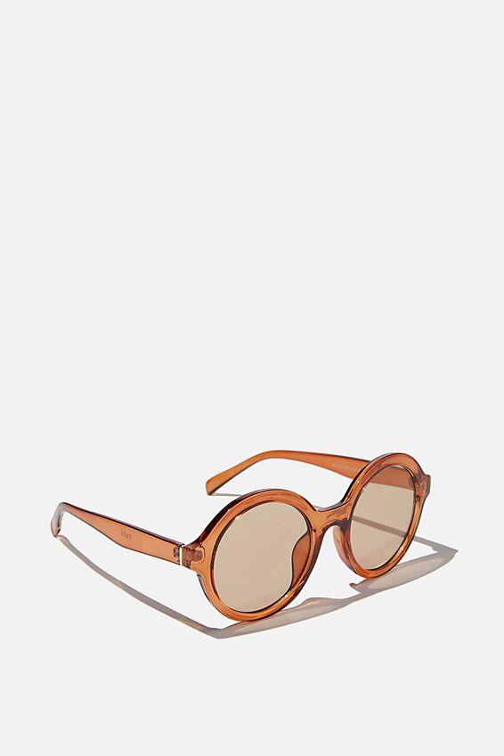 Rylee Round Sunglasses, SOFT APRICOT