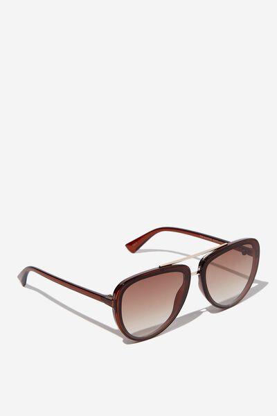 Pip Aviator Sunglasses, TORT/GOLD