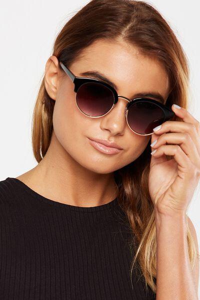 Freya Sunglasses, BLACK