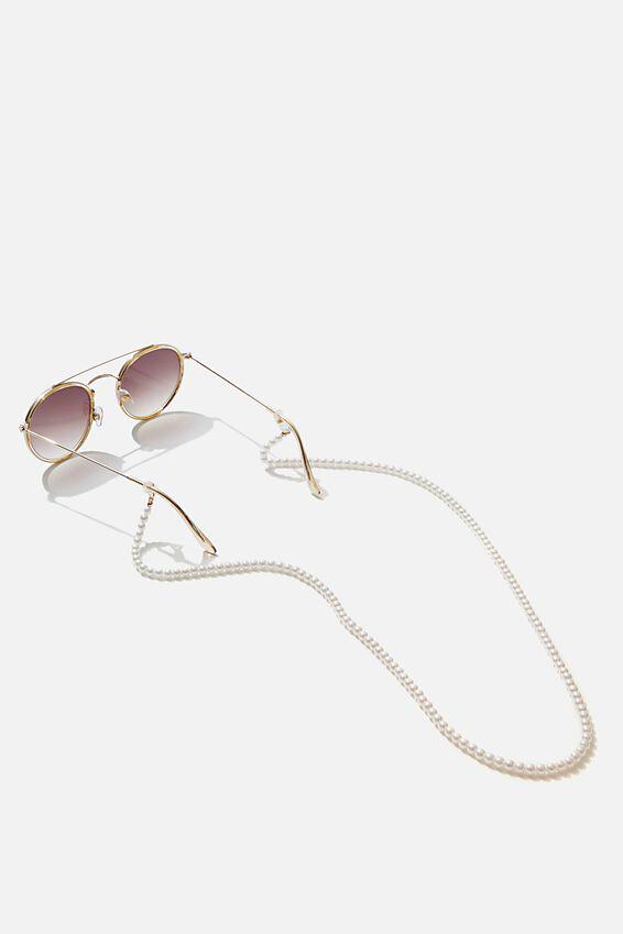 Bella Glasses Chain, PEARL ROPE