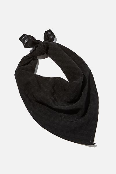 Soho Bandana, BLACK
