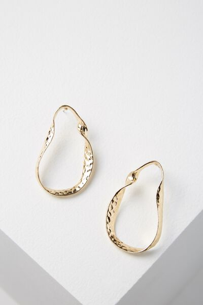Galway Earring, GOLD