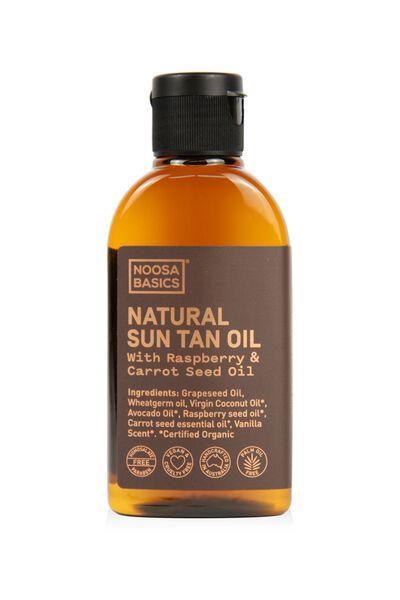 Noosa Basics Natural Sun Tanning Oil, NATURAL